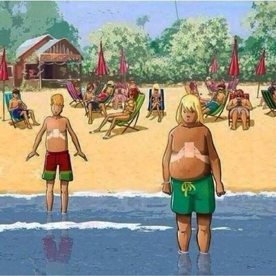 The tan lines of the next generation