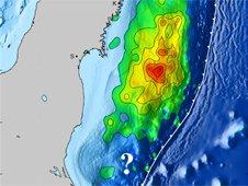 Tohoku quake fault slip