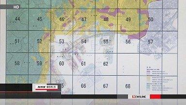 Tokyo liquefaction hazard map