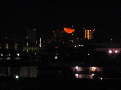 Moonrise in Tokyo