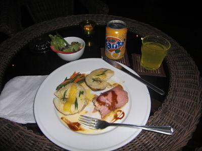 Valentine's Day Dinner @ Wailoaloa Beach Resort Fiji