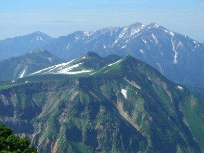 View of Mt. Yakushi-dake