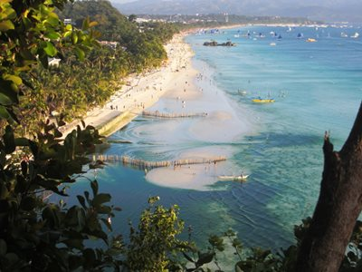 View of White Beach from Steve's Cliff