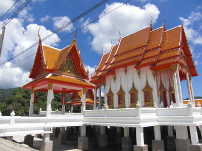 Wat Mai Luang Pho Supha temple