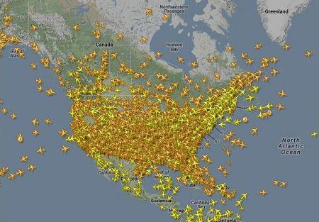 Wed. Nov. 27, 2013 air traffic
