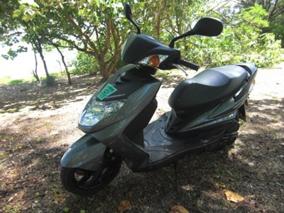 Yamaha Cygnus 115cc scooter