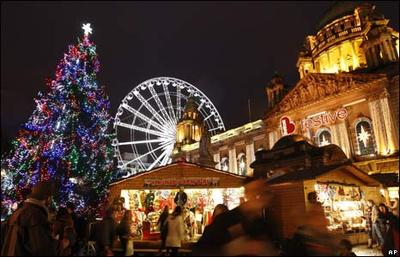 Christmas in Belfast  : )