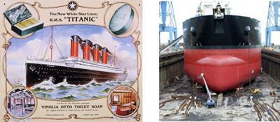 Titanic flyer & the Belfast shipyard