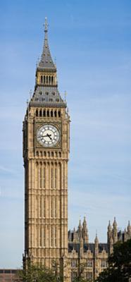 Big Ben, in London