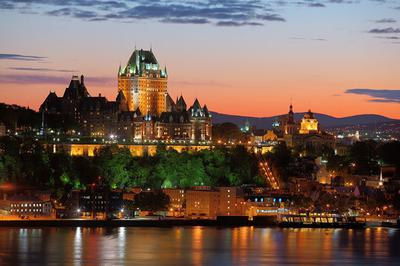 Quebec City, seems nice to live here.