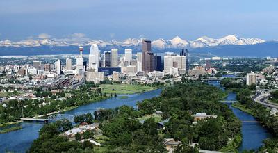 Calgary City: Here many Mexican people live... :D