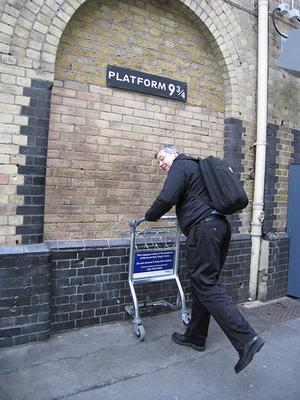 Platform 9 3/4, King's Cross Station