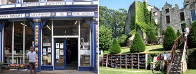 Richard Booth bookshop & Hay Castle bookshop