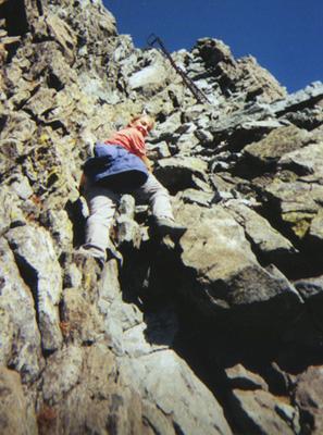 Laura tackling the Daikiretto