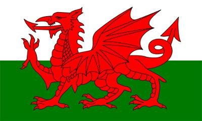 This is the flag of Wales