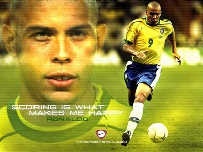 Ronaldo, one of the most famous football players around the world