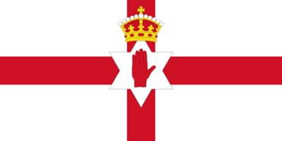 Ulster Banner, the former flag of Northern Ireland
