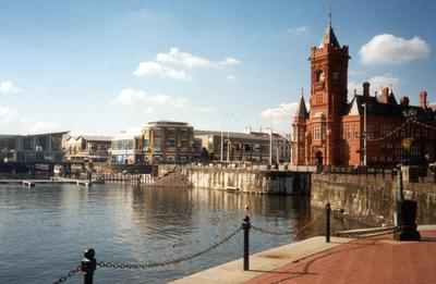 Cardiff, the capital and largest city in Wales