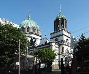 Nicolai-do Cathedral: An instance of Russian culture around me