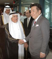 Minister Edano and Saudi ministers