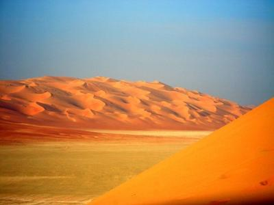 Saudi Arabia's desert