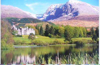 Beautiful Scenery in a small town in Scotland
