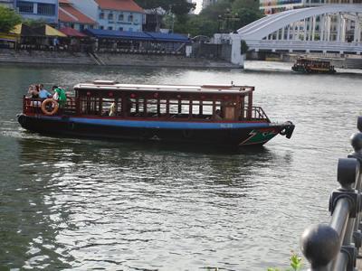 Singapore sightseeing boat
