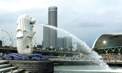 One of the landmarks of Singapore