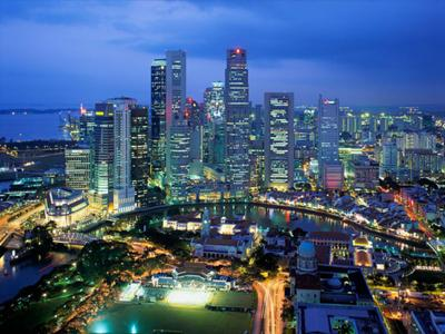 Townscape of Singapore