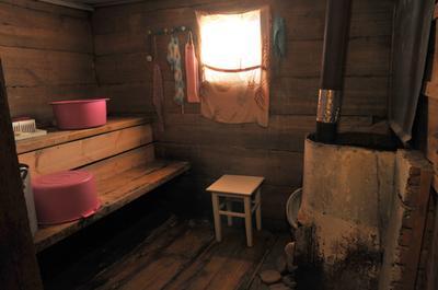 A sauna in Russia