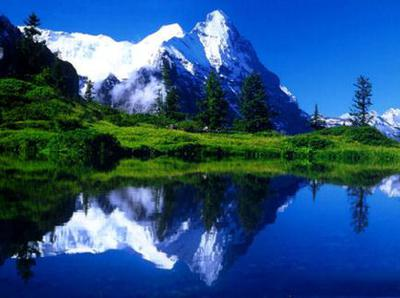 The high and breathtaking mountains