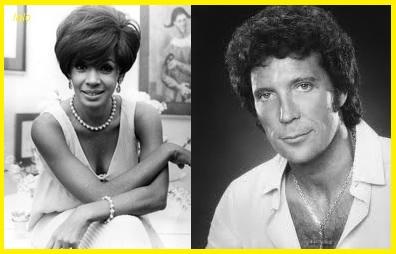 Shirley Bassey and Tom Jones