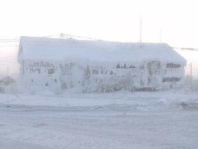 Oymyakon, the coldest place in the world