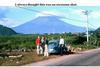 Yokota airmen en route to climbing Mt. Fuji in 1964