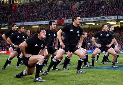 Haka, by the New Zealand national rugby team