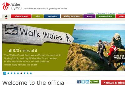 Wales official home page