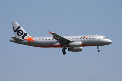 Jetstar Airways plane