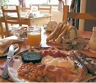 An example of a Scottish breakfast