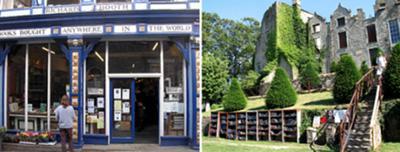 Richard Booth bookshop & Hay Castle bookshop