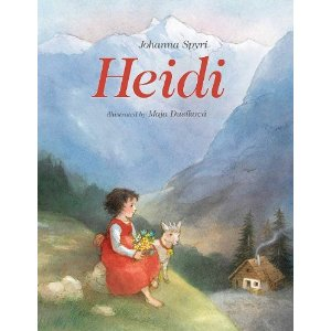 Heidi, the children's book by Swiss author Johanna Spyri