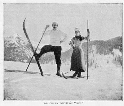 Sir Arthur Conan Doyle and His Wife