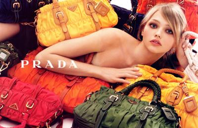 Prada's F/W collection picture in 2007