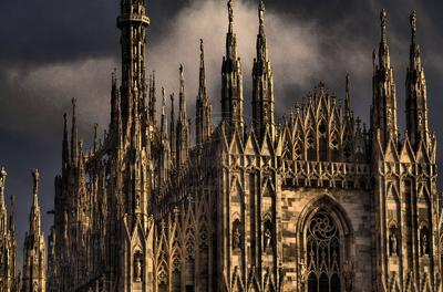 Milan's Duomo, the Cathedral from the Gothic era