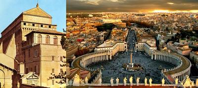 Vatican City, Sistine Chapel (left)