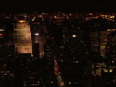 View from the Empire State Bldg.