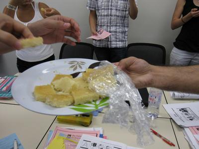 Basboosa (Arabian cake)