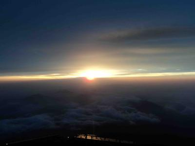Mt. Fuji Sunrise at the Summit