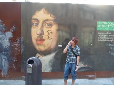 Smoking in Florence!!