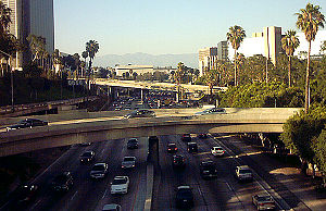 Freeway in Los Angeles
