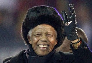 In memory of Nelson Mandela, because without him, South Africa wouldn't be as we know it now.